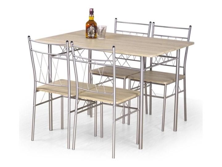 SELSEY Stół z krzesłami Tospe dąb sonoma Kategoria Stoły z krzesłami Kolor Beżowy