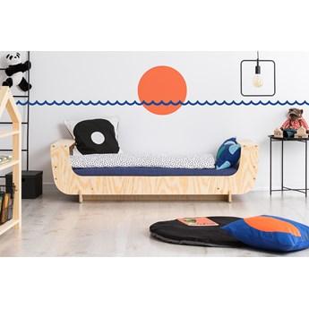 SELSEY Łóżko drewniane dla dziecka Kyori w kształcie łódki