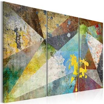 SELSEY Obraz - Przez pryzmat kolorów 120x80 cm