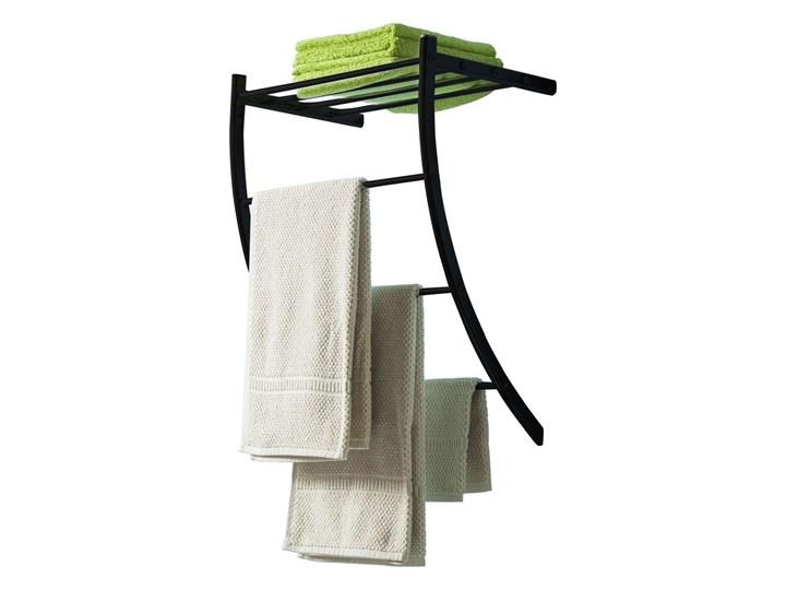 SELSEY Wieszak na ręczniki Tanem Metal Wieszaki na ręczniki Kategoria Wieszaki i uchwyty łazienkowe Ścienny Kolor Czarny
