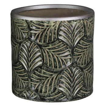 SELSEY Osłonka na doniczkęSteller ceramiczna 12 cm