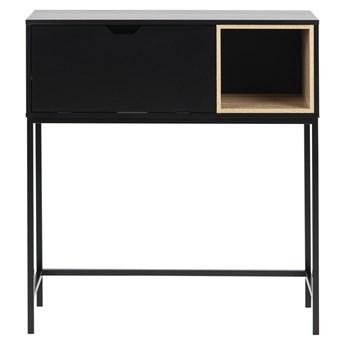 SELSEY Konsola Preraca 92x30 cm czarna