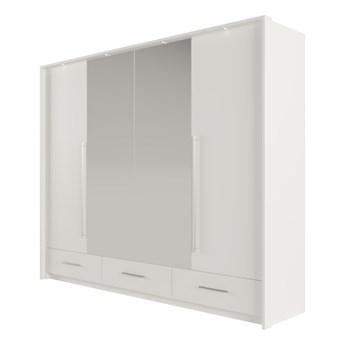 SELSEY Szafa z lustrem Trollson drzwi składane 255 cm