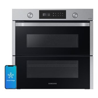 Piekarnik SAMSUNG NV75A6649RS Eo Dual Cook Fiex Elektryczny Stalowo-czarny A+