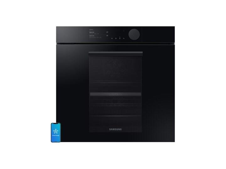Piekarnik SAMSUNG NV75T8879RK EO Dual Cook Elektryczny parowy Czarny A+ Kategoria Piekarniki