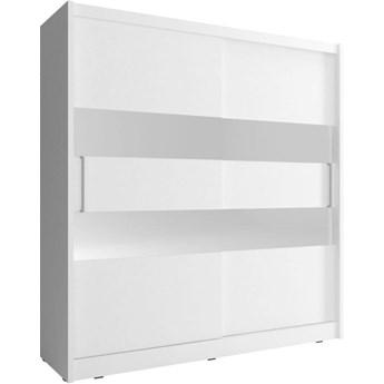 Szafa przesuwna Maja II 180cm biały - Meb24.pl
