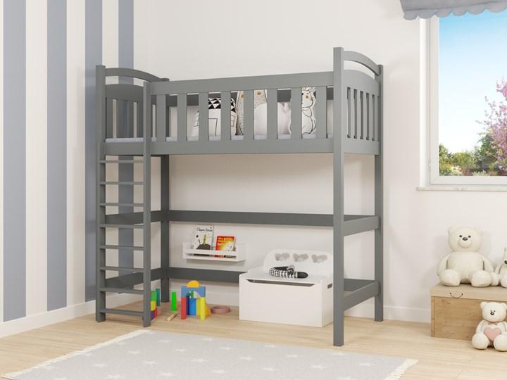 Łóżko antresola DOMINIK wiele rozmiarów i kolorów Drewno Kategoria Łóżka dla dzieci Łóżko piętrowe Łóżko na antresoli Kolor Wielokolorowy