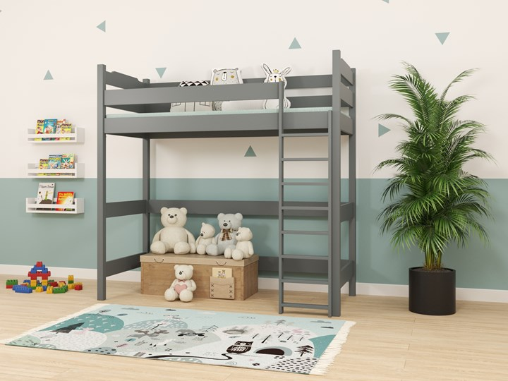 Łóżko antresola IGOR wiele rozmiarów i kolorów Drewno Kategoria Łóżka dla dzieci Łóżko na antresoli Kolor Beżowy
