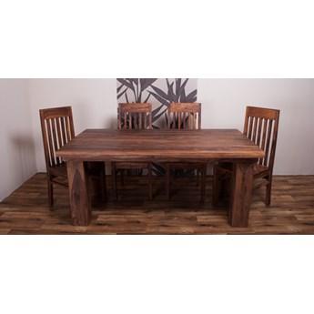 Stół drewniany jadalniany 200/280 PU Light