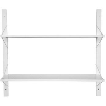 Półka Elma 83x24 cm biała