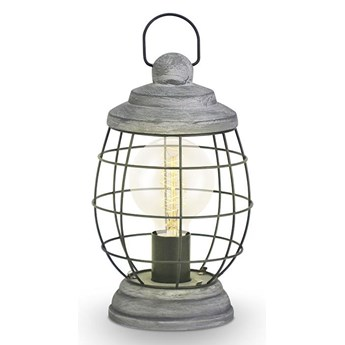 Eglo 49289 - Lampa stołowa BAMPTON 1xE27/60W/230V