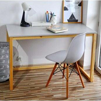 Skandynawskie biurko na płozach DES3 COLOR