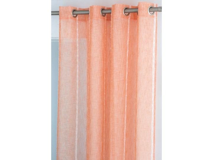 Zasłona Antilo Fundeco Yara Naranja Poliester 140x260 cm Typ Zasłony gotowe