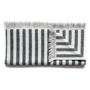 Ręcznik bawełniany Elvang Fence Grey