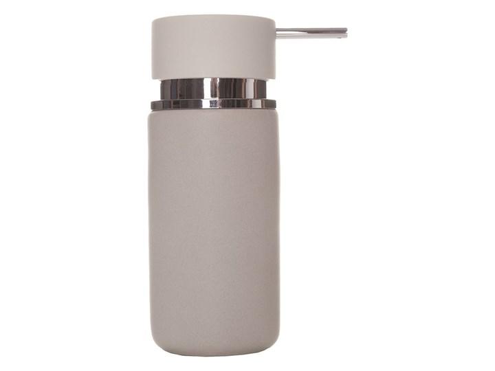 Dozownik do mydła Sorema Optima Silver Dozowniki Ceramika Kategoria Mydelniczki i dozowniki Kolor Srebrny