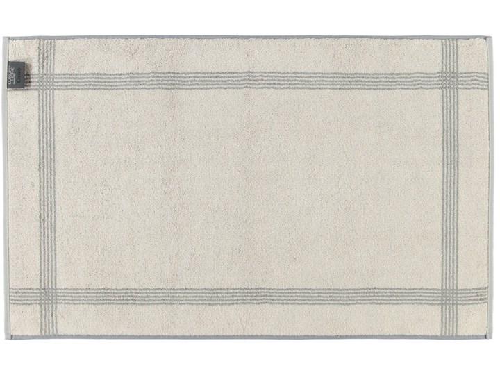 Mata łazienkowa Cawo Two-Tone Graphite 50x80 cm Bawełna Kategoria Dywaniki łazienkowe Kolor Szary