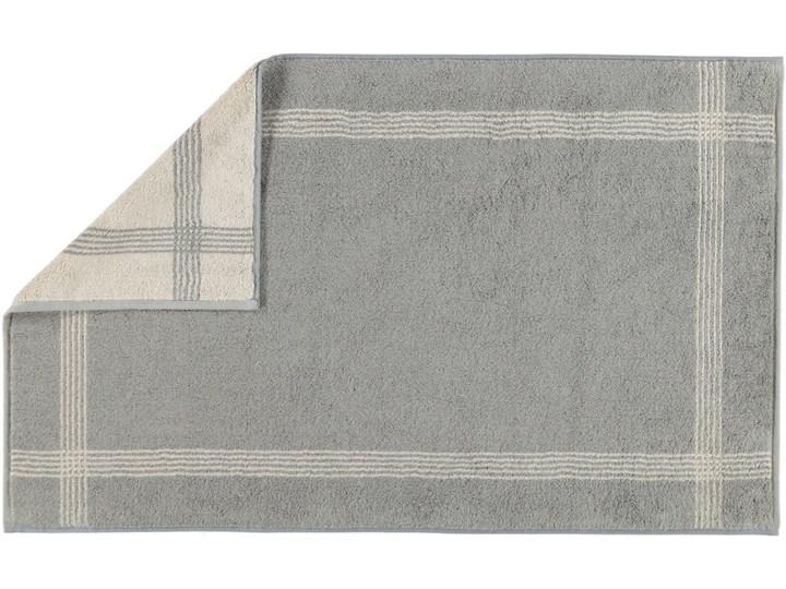 Mata łazienkowa Cawo Two-Tone Graphite Kategoria Dywaniki łazienkowe 50x80 cm Bawełna Kolor Szary