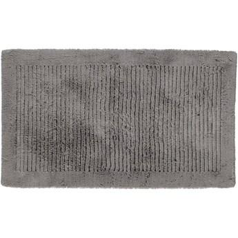 Dywanik łazienkowy Ręcznie Tkany Cawo Noblesse Graphite
