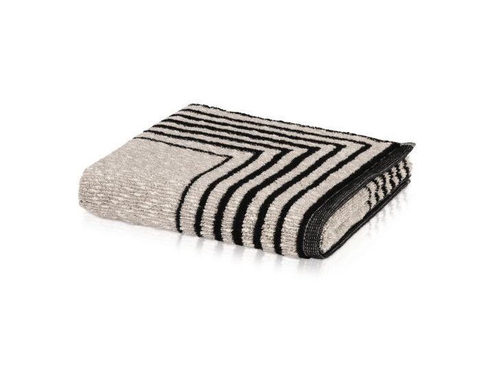 Ręcznik Moeve Architecture Frame Black Kategoria Ręczniki 80x150 cm Len 50x100 cm Bawełna Kolor Czarny