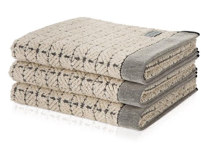 Ręcznik Moeve Eden Square Nature Black Ręcznik do sauny Ręcznik kąpielowy Ręcznik do rąk 50x100 cm Len Kategoria Ręczniki 80x150 cm Bawełna Kolor Czarny