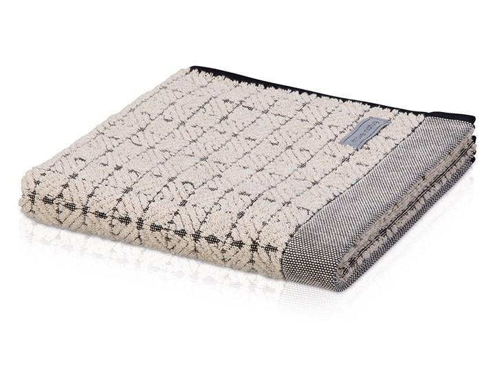 Ręcznik Moeve Eden Square Nature Black Ręcznik kąpielowy Bawełna 50x100 cm 80x150 cm Len Ręcznik do rąk Ręcznik do sauny Kolor Czarny