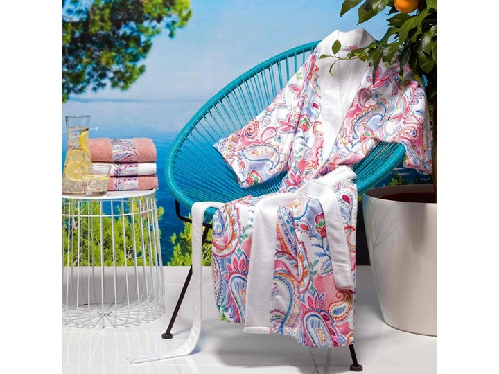 Ręcznik Moeve St. Tropez Rosette Kategoria Ręczniki Bawełna Frotte 50x100 cm Kolor Różowy