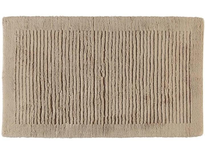 Dywanik łazienkowy Ręcznie Tkany Cawo Noblesse Sand 70x120 cm 60x100 cm Bawełna Kategoria Dywaniki łazienkowe 60x60 cm Kolor Beżowy