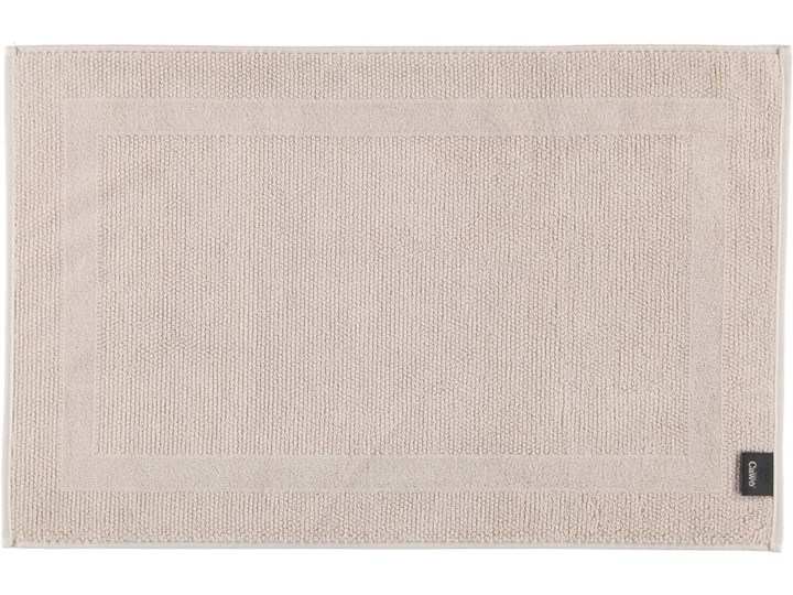 Mata łazienkowa Cawo Modern Beige 50x80 cm Bawełna Kategoria Dywaniki łazienkowe
