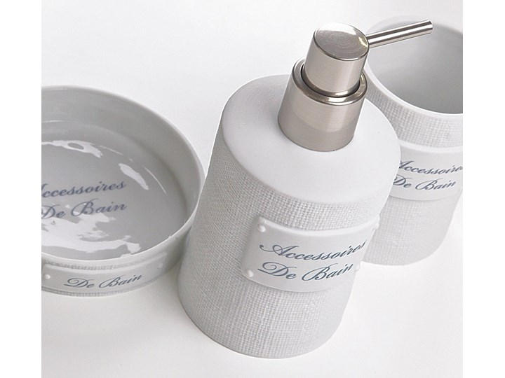 Dozownik do mydła Sorema De Bain White Ceramika Dozowniki Kategoria Mydelniczki i dozowniki