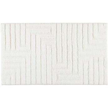 Dywanik łazienkowy Cawo Struktur White