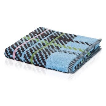 Ręcznik Moeve Tartan Check Aqua