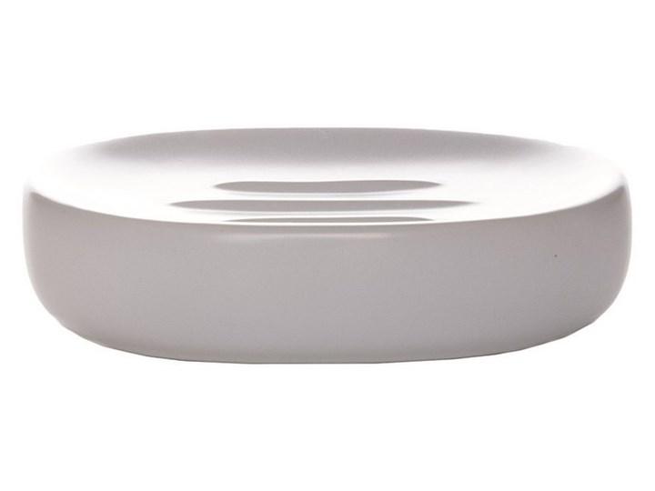 Mydelniczka Sorema Optima White Kategoria Mydelniczki i dozowniki Mydelniczki Ceramika Kolor Biały