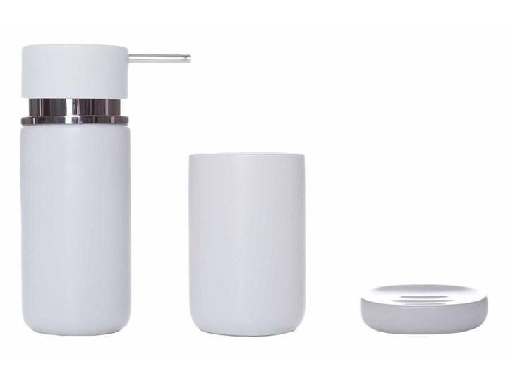 Mydelniczka Sorema Optima White Ceramika Kategoria Mydelniczki i dozowniki Mydelniczki Kolor Biały