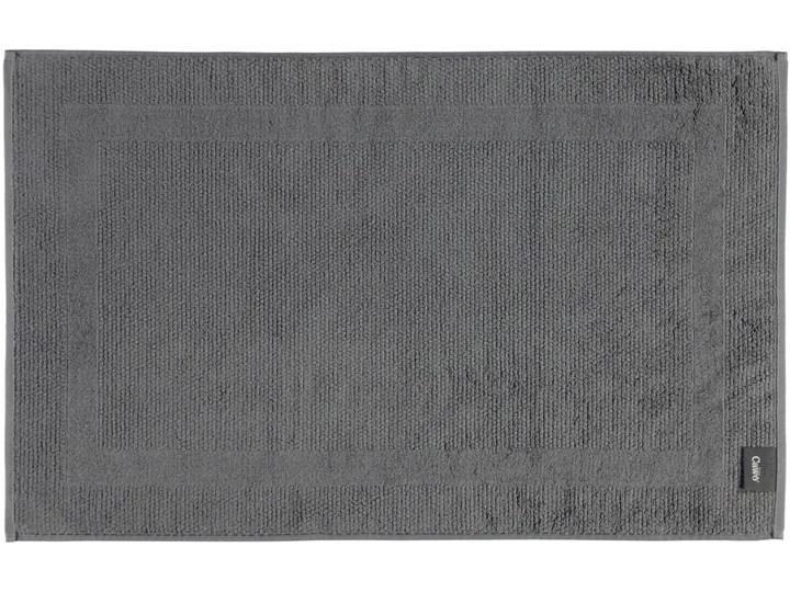 Mata łazienkowa Cawo Modern Anthracite Bawełna 50x80 cm Kategoria Dywaniki łazienkowe