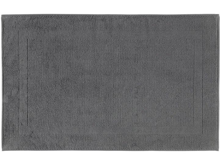 Mata łazienkowa Cawo Modern Anthracite 50x80 cm Bawełna Kategoria Dywaniki łazienkowe