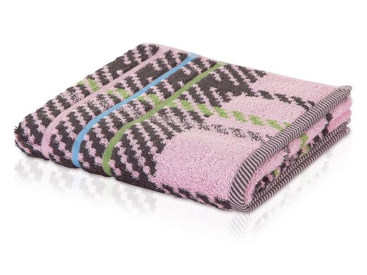 Ręcznik Moeve Tartan Check Rose Ręcznik kąpielowy Kategoria Ręczniki 50x100 cm Bawełna Kolor Szary
