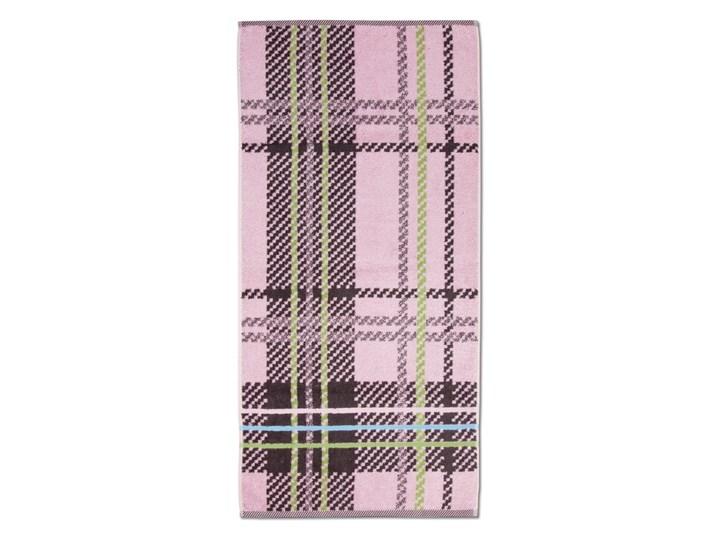 Ręcznik Moeve Tartan Check Rose 50x100 cm Kategoria Ręczniki Ręcznik kąpielowy Bawełna Kolor Szary