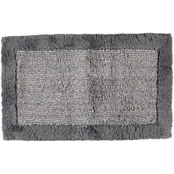 Dywanik łazienkowy Cawo Luxury Two-Tone Dark Grey