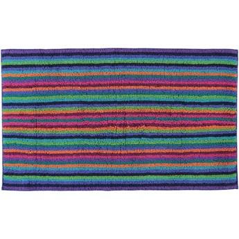 Dywanik łazienkowy Cawo Life Style Strip Multicolor Dark