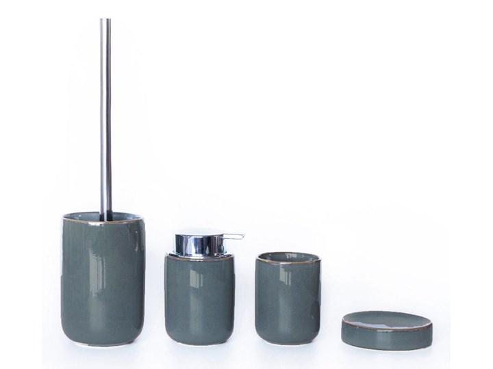 Dozownik do mydła Sorema Sal Magnetic Grey Ceramika Mydelniczki Dozowniki Kategoria Mydelniczki i dozowniki