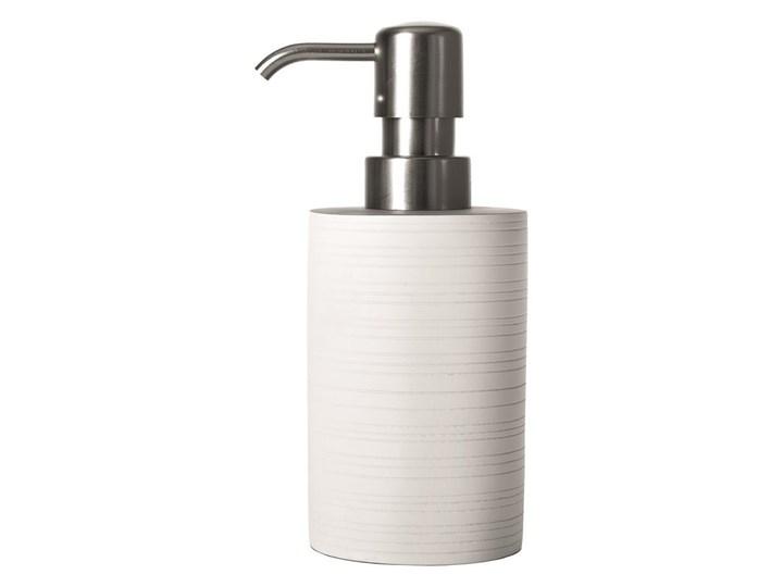 Dozownik do mydła Sorema Ribbon White Kolor Biały Dozowniki Kategoria Mydelniczki i dozowniki
