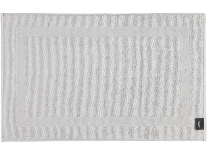 Mata łazienkowa Cawo Modern Light Grey Bawełna 50x80 cm Kolor Szary