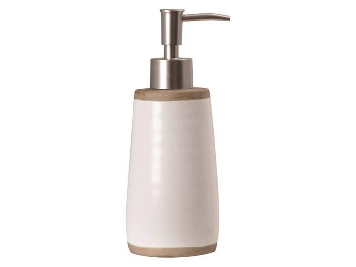 Dozownik do mydła Sorema Rustic White Ceramika Dozowniki Kolor Biały