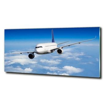 Foto obraz szklany Samolot w powietrzu