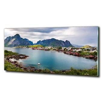 Foto obraz szklany Lofoty w Norwegii