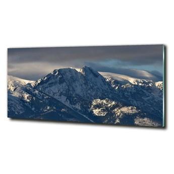 Foto obraz szkło hartowane Giewont zimą