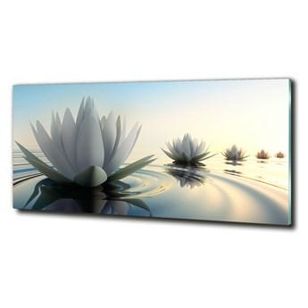 Foto obraz szkło hartowane Kwiat lotosu