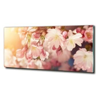 Foto obraz szkło hartowane Kwiaty wiśni
