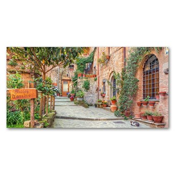Fotoobraz na ścianę szklany Włoskie uliczki