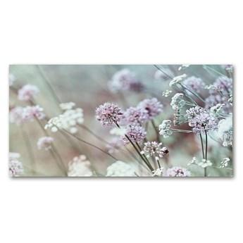 Foto obraz szkło hartowane Dzikie kwiaty